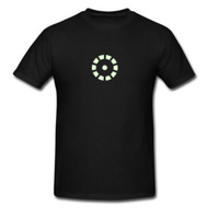IRON MAN GLOW IN THE DARK T-SHIRT